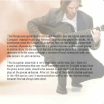 "A page from the booklet of ""The Dance Album"""