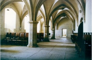 the hall of kuressaare castle