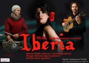 Iberia banner. Kristo, Maria, Reigo