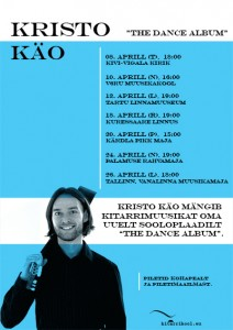 The Dance Album poster. Kristo Käo
