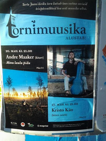 tornimuusika plakat 2014