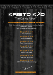 the dance album banner black
